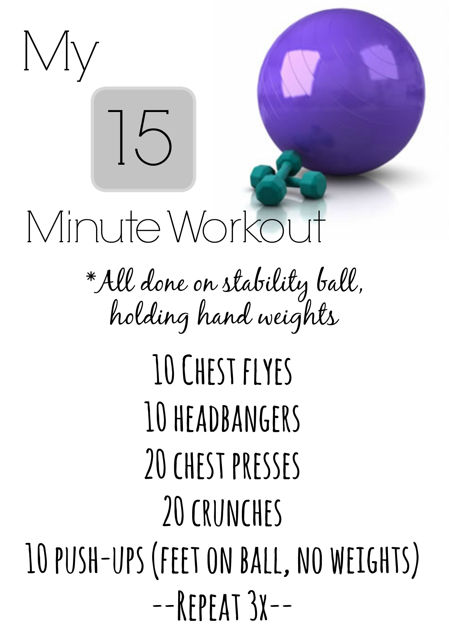 15 Minute Workout | Through the Lens