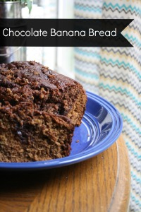 Chocolate Banana Bread | Through The Lens of Hannah Diane