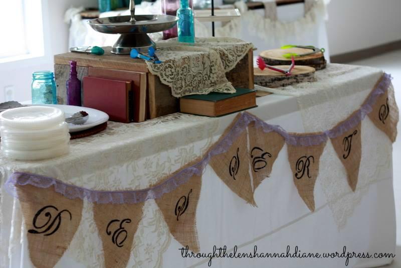 Diy Wedding Word Banners: Through The Lens