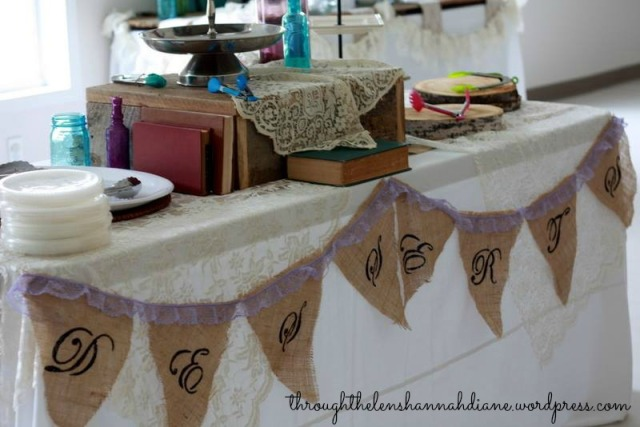 DIY Wedding Banners
