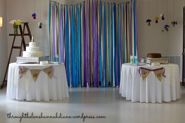 DIY Wedding Reception Ideas
