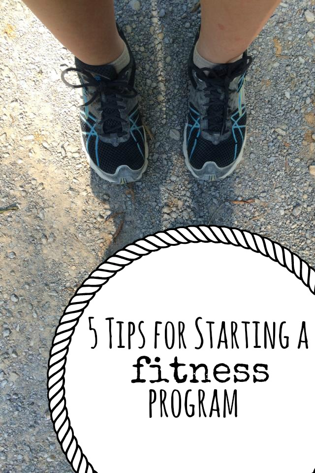 5 Tips for Starting a Fitness Program