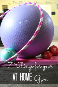 7 Things for Your At-Home Gym