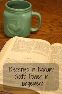 Blessings in Nahum