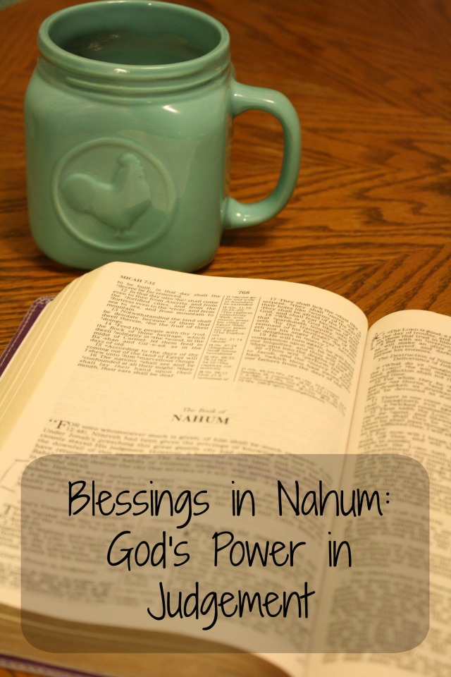 Blessings in Nahum