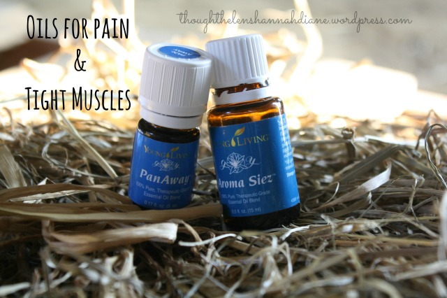 Oils for pain