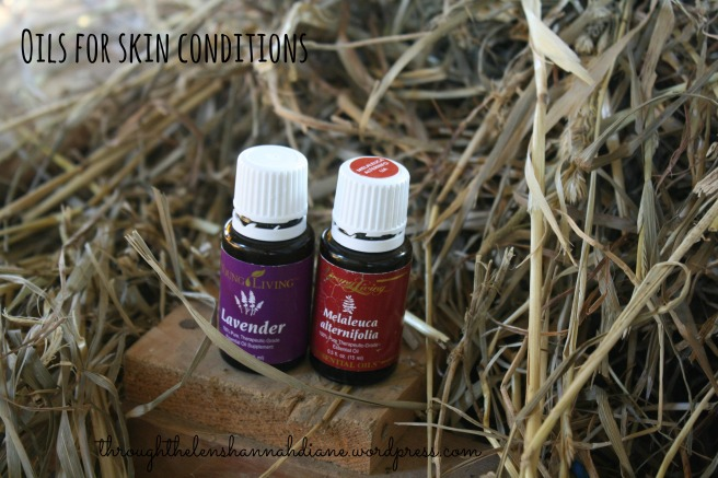 Oils for skin conditions