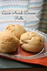Amish Dinner Rolls