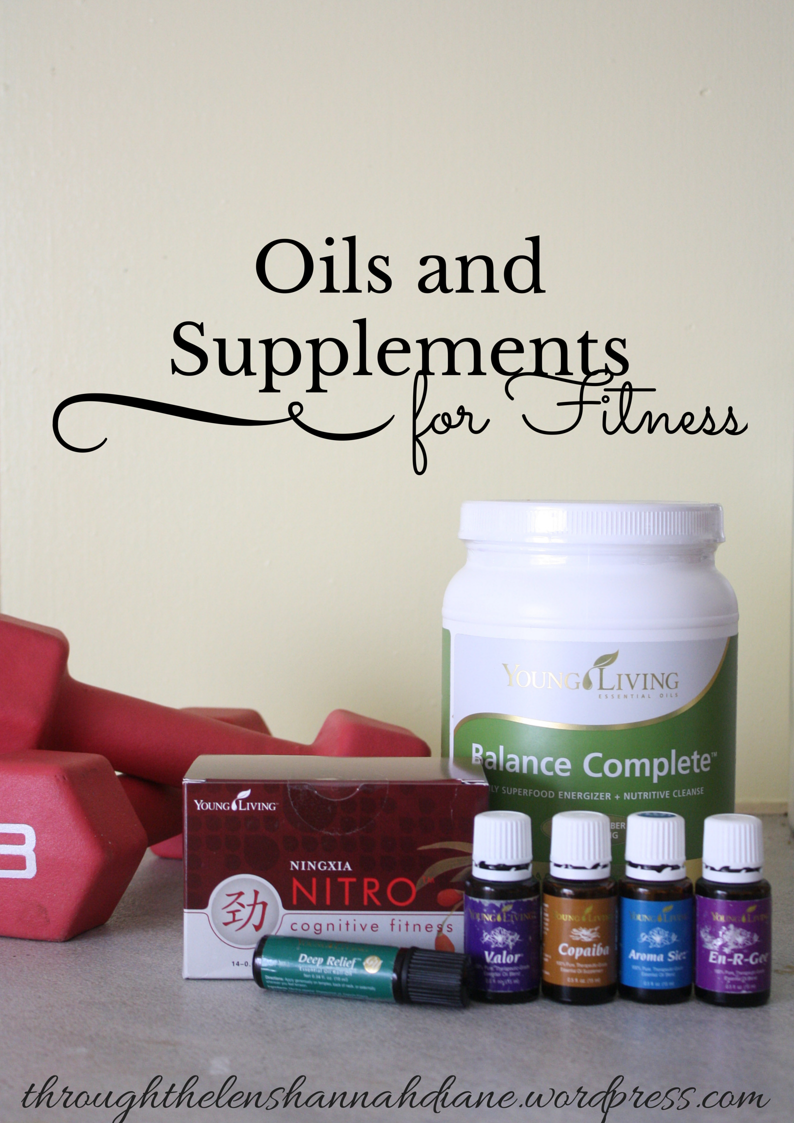 Oils And Supplements For Fitness Through The Lens