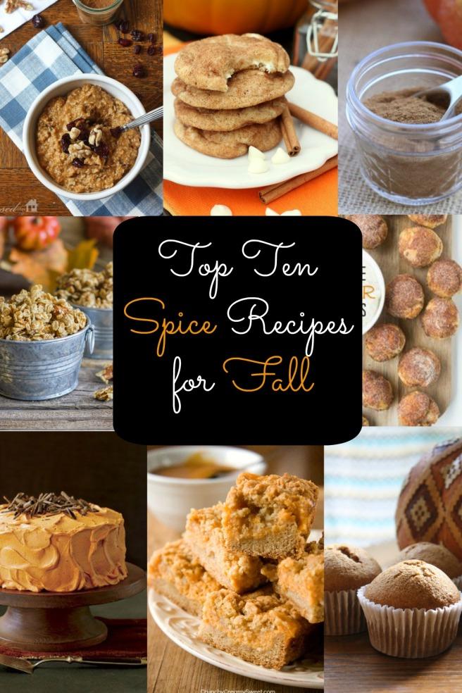 Top Ten Spice Recipes