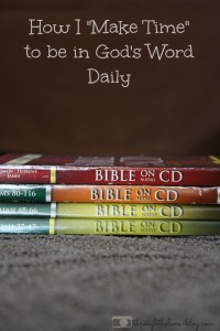 Be in God's Word Daily
