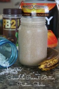 Chocolate PB Protein Shake