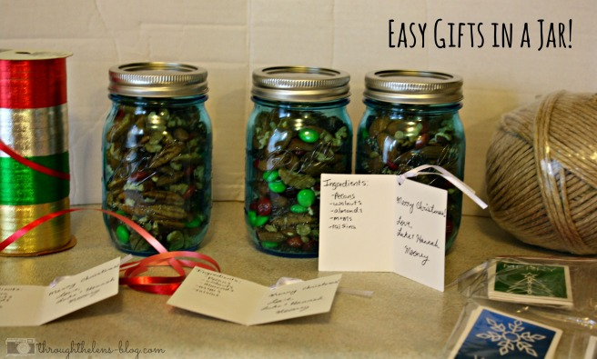 Gifts in a Jar- Easy