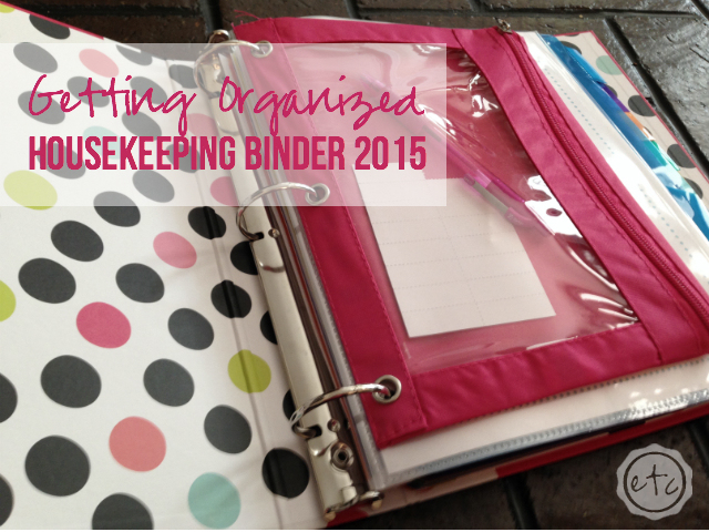 House Keeping Binder