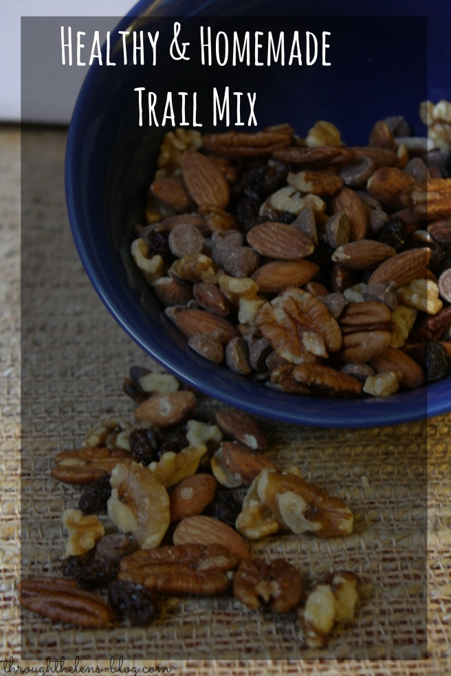 Healthy and Homemade Trail Mix