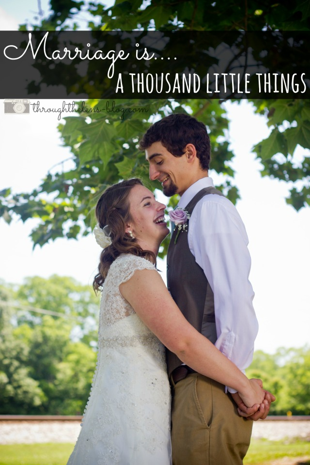 Marriage is a Thousand Little Things
