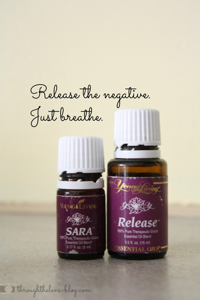 Release the Negative. Just Breathe.