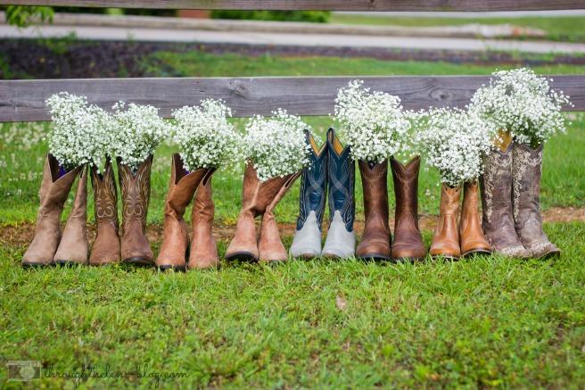 Wedding Boots Bridesmaids