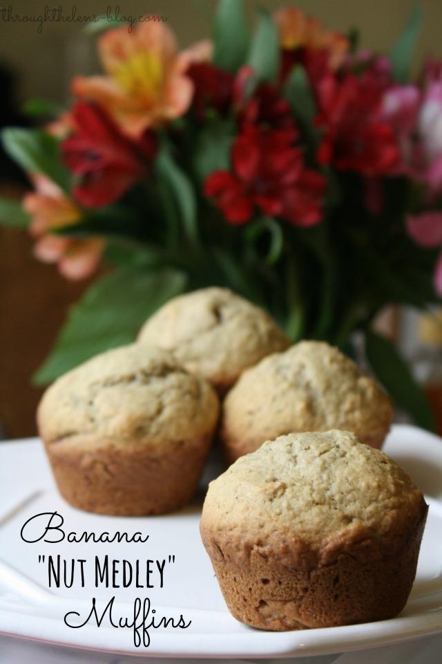 Banana Nut Medley Muffins