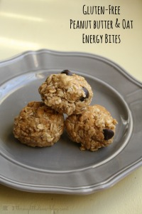 Gluten-Free Peanut Butter And Oat Energy Bites