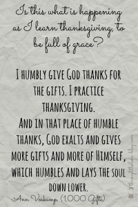 Humbly Give God Thanks
