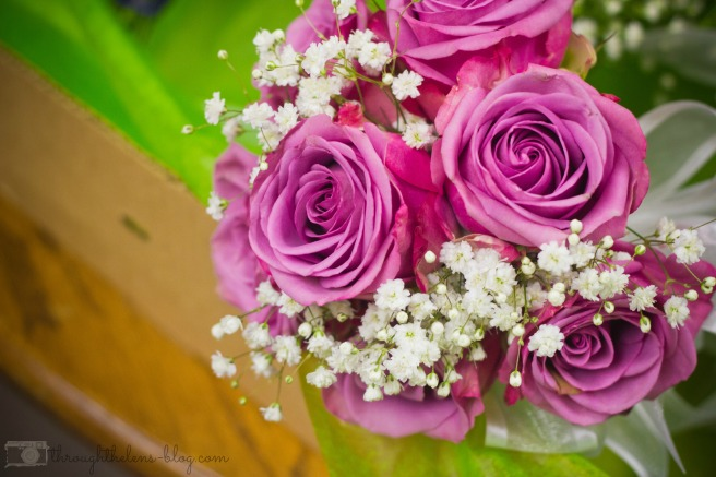 Throw Bouquet