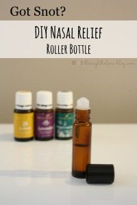 DIY Allergy Relief Bottle