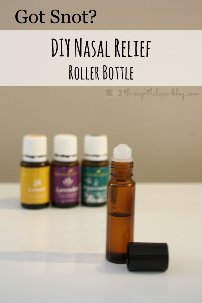 DIY Allergy Relief Bottle
