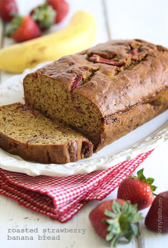 roasted-strawberry-banana-bread
