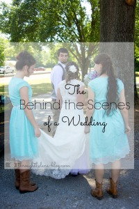 Behind the Scenes of a Wedding