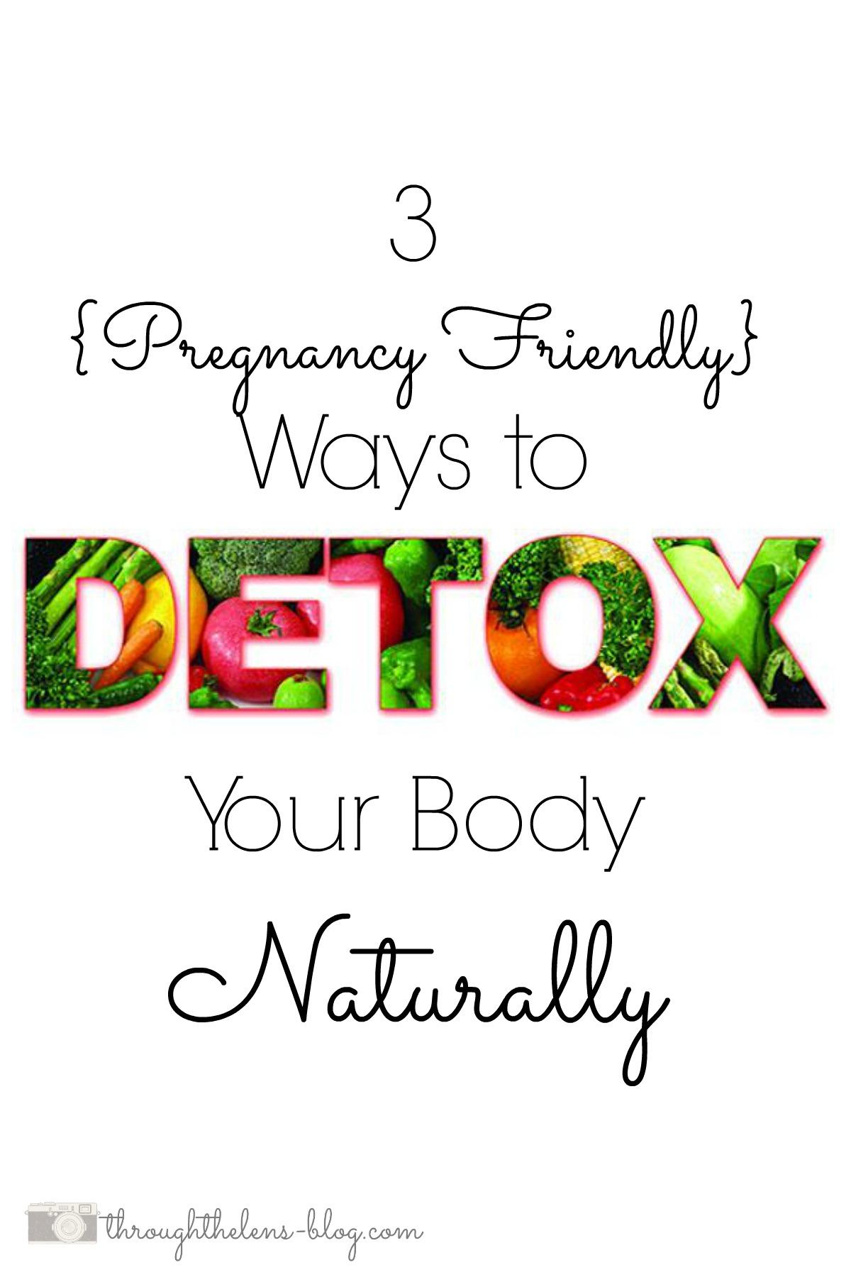 Ways To Detox Naturally
