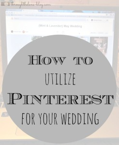 Pinterest for your Wedding