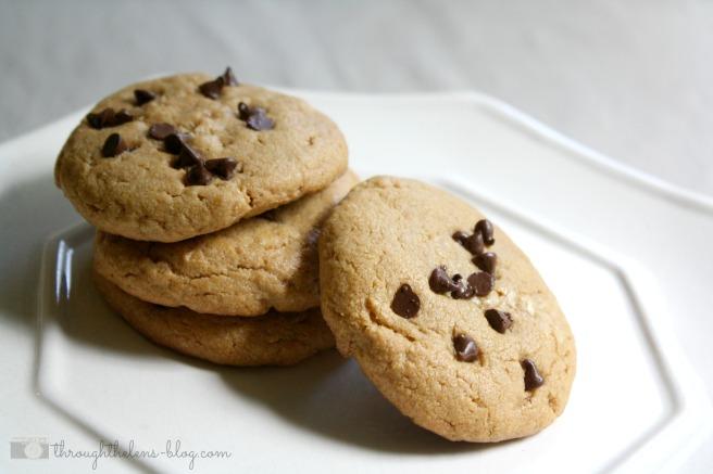 PB Chocolate Chip Cookies