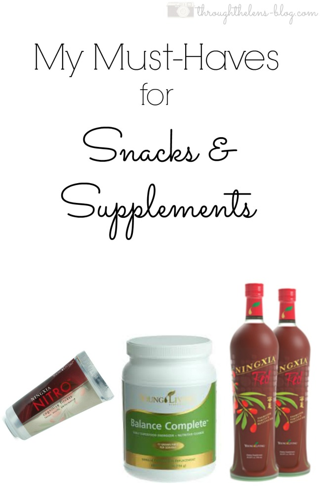 Snacks and Supplements