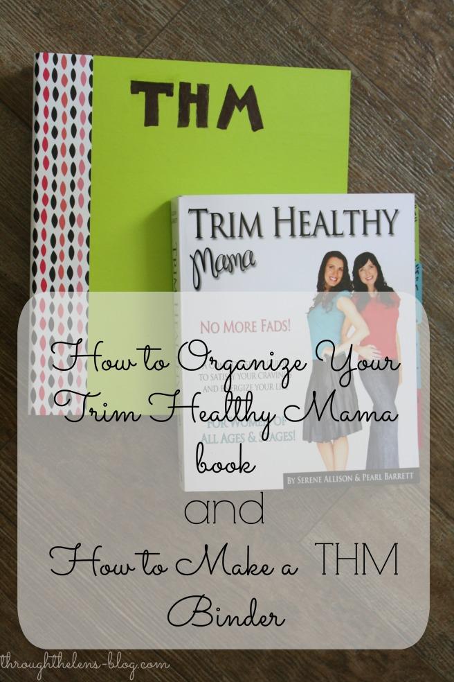 THM Binder and Organizing