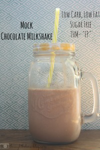 Mock Chocolate Milkshake