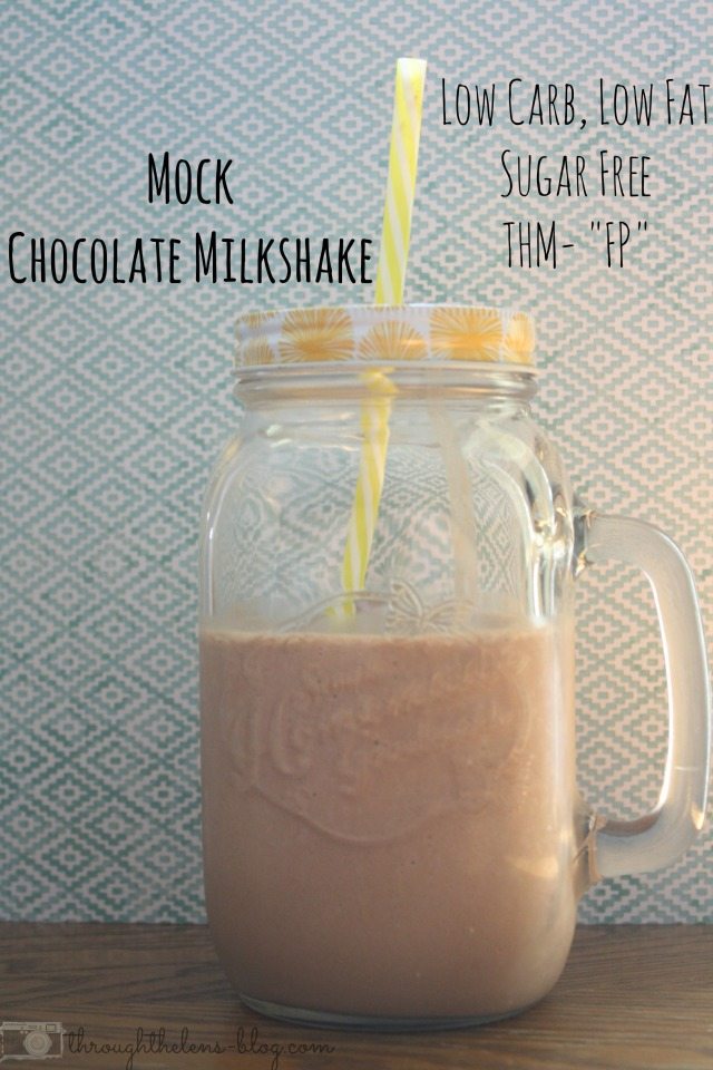 Mock Chocolate Milkshake