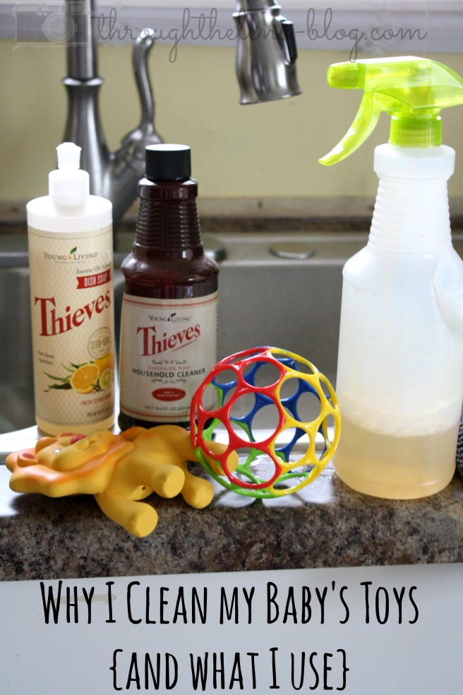 Why I Clean My Baby's Toys